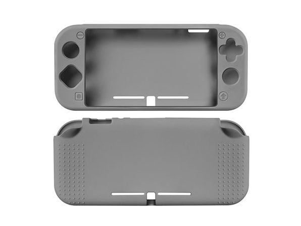 Silicone Case for Nintendo Switch Lite (Grey)