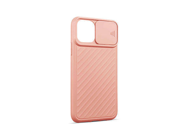 iPhone Case with Camera Cover (12 Pro Max/Pink)