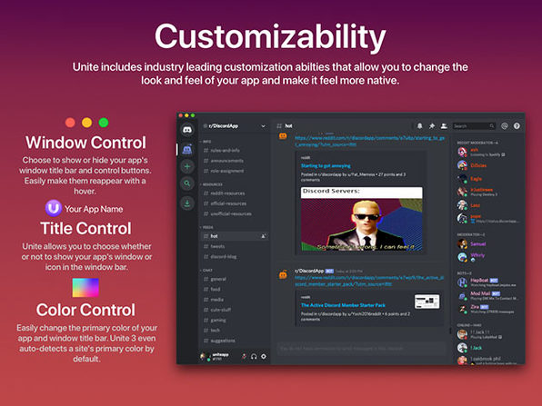 Unite 3: Website-to-App Tool for Mac  (5 Licenses)