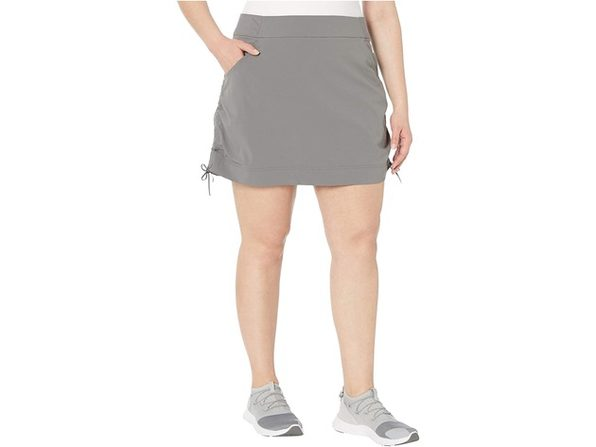 Columbia Women's Size Plus  Anytime Casual Skirt Grey Size Extra Large