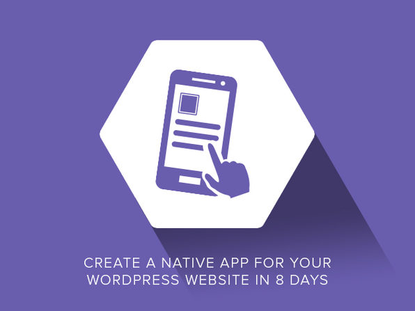 Make an App for your WordPress Website - Product Image