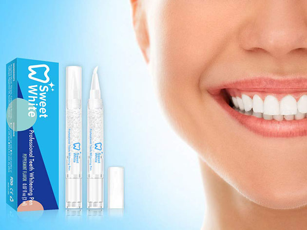 Sweetwhite Professional Teeth Whitening Pen 2 Pack Stacksocial