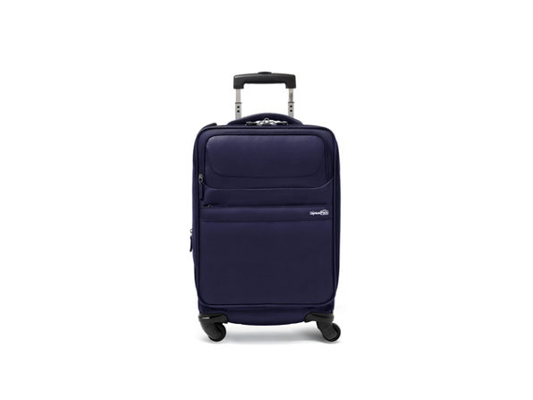 Genius Pack G4 Carry-On Spinner Case (Navy)