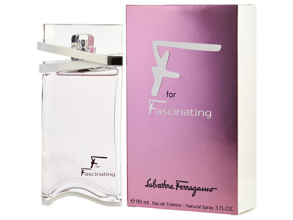 F FOR FASCINATING by Salvatore Ferragamo EDT SPRAY 3 OZ (Package Of 4) - Product Image