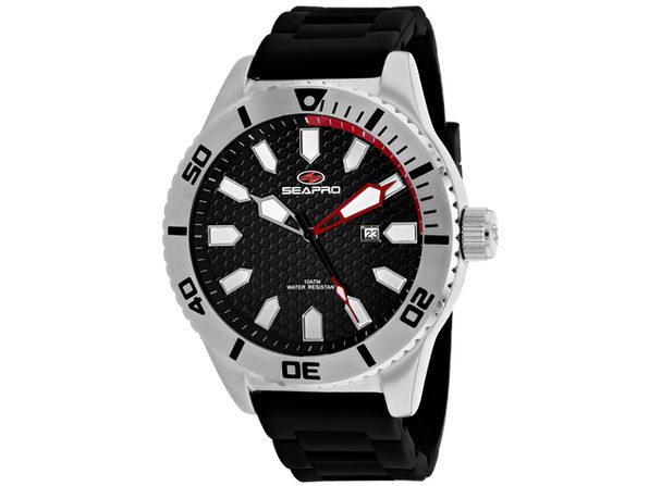 Seapro Men's Brigade Black Dial Watch - SP1310