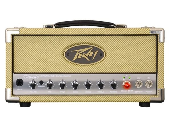 Peavey CLASSIC20MH 20 MH Classic Mini Amp Head Attenuator Switch for 20 Watts (Distressed Box)