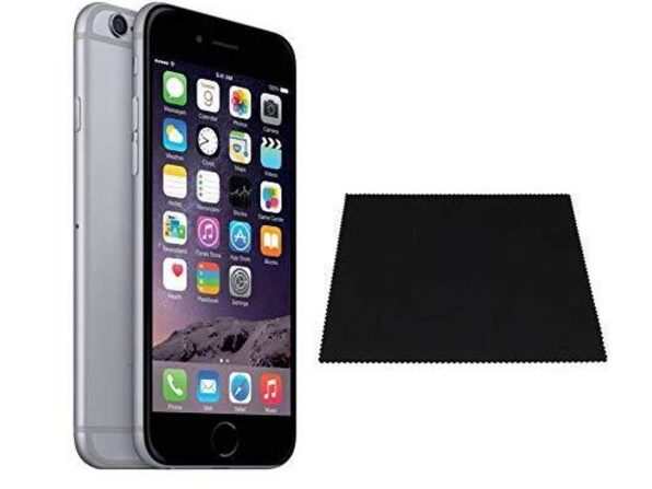 """Apple iPhone 6 32GB 4.7"""" Space Gray 8MP Locked Straight-Talk/Total Wireless - Product Image"""