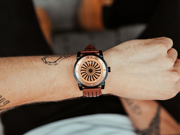 Blade Automatic Watch with 42H Power Reserve (Outlaw)