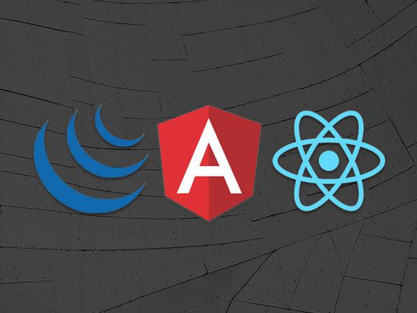 The Web Development Omnibus: jQuery, AngularJS and ReactJS