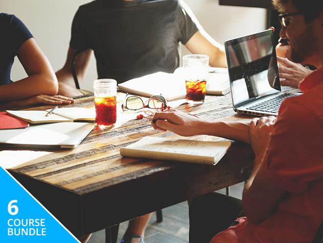 6 Courses, 71+ Hours of Business, Project Management & Coding Online Courses