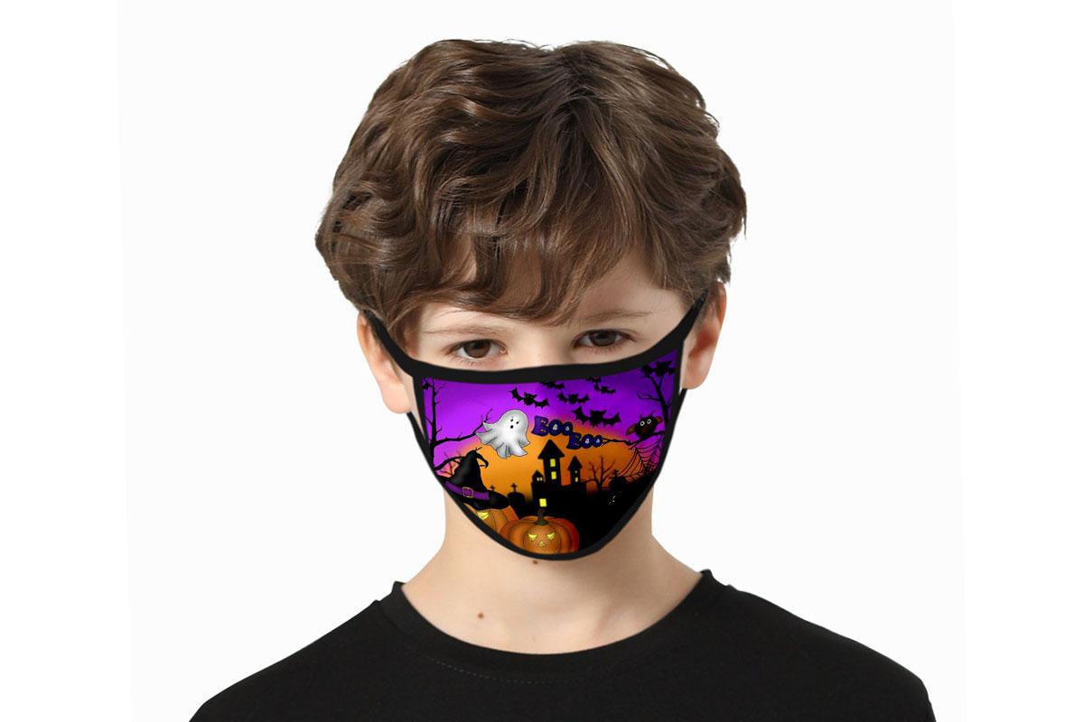 Assorted Halloween Kids Washable Masks: 6-Pack, on sale for $22.99 (23% off)