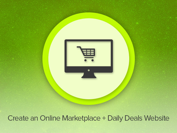Create an Online Marketplace & Daily Deals Website - Product Image