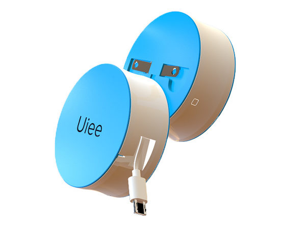 Uiee Portable Battery & Wall Charger Blue (MicroUSB)) - Product Image