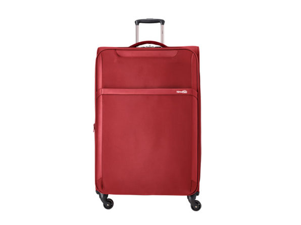 "Genius Pack 30"" Spinner Upright Suitcase (Red)"