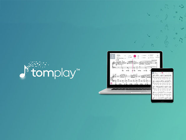 Tomplay™ Interactive Sheet Music: 1-Yr Subscription