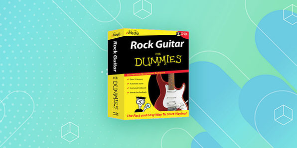 eMedia Rock Guitar For Dummies® - Product Image