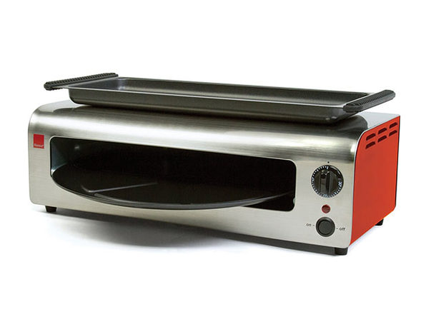 Ronco® Pizza & More™ Oven (Stainless Steel/Red)