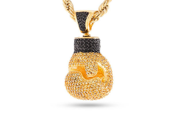 14K Gold Plated Champions of the World Pendant Necklace