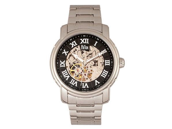 Reign Kahn Automatic Men's Watch (Silver/Black)
