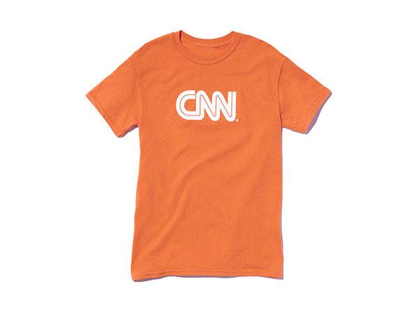 CNN Basic Tee  Orange L