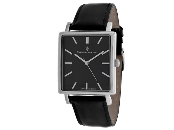 Christian Van Sant Men's Ace Black Dial Watch - CV0431