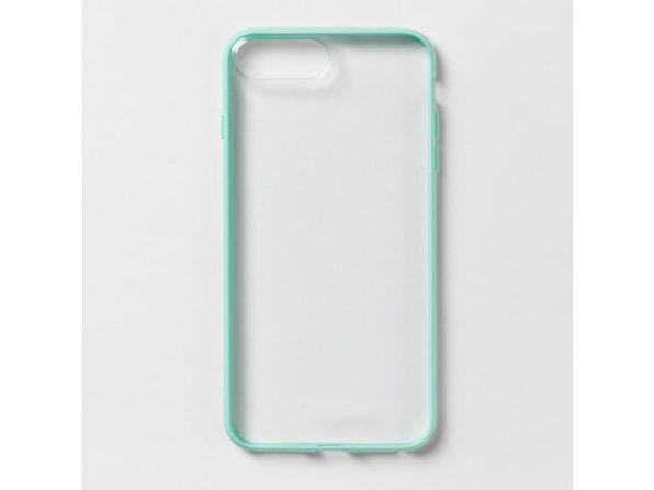 Heyday Protective Phone Case for Apple iPhone 8 Plus/7 Plus/6S Plus/6 Plus, Teal/Clear (New Open Box)