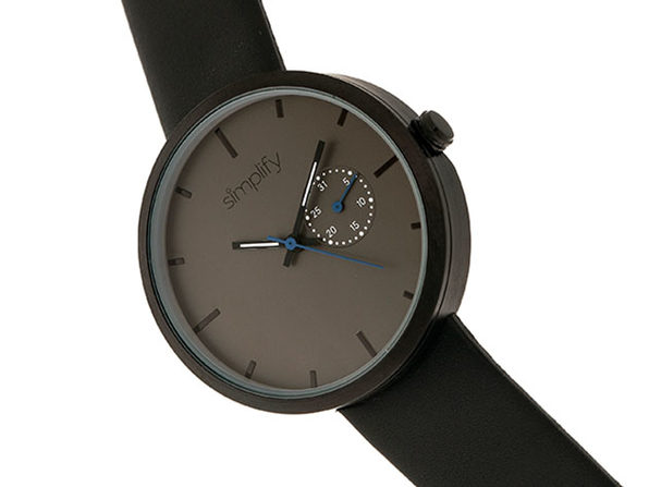 "Simplify ""The 3900 Series"" Men's Quartz Watch"