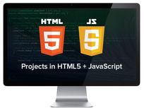 Learn HTML5 and JavaScript by Building 10 Projects - Product Image