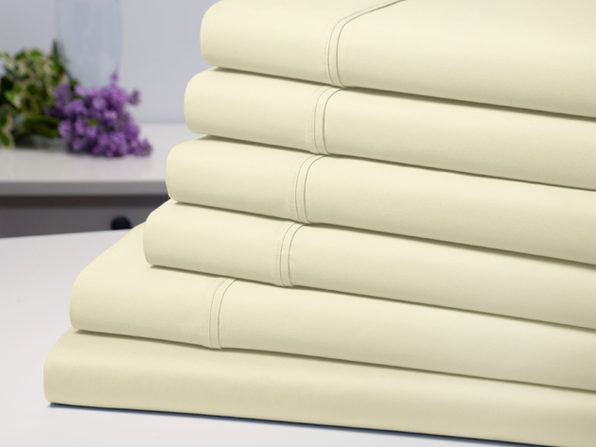 Bamboo Comfort Luxury Sheet Set (Ivory/King)