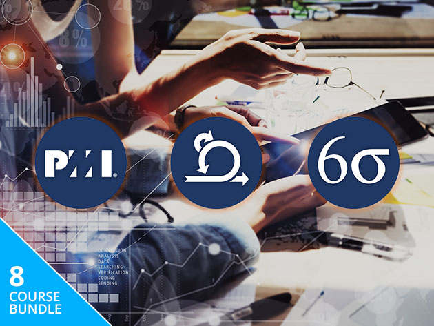 From Agile to PMP, Scrum to Six Sigma, This Monster 114-Hour Bundle is Your Ticket to a Six-Figure Project Management Career