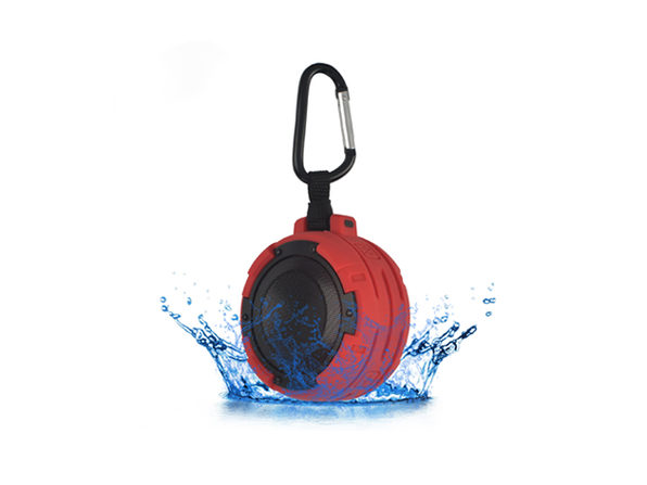 ToughSound Waterproof Bluetooth Speaker (Red)