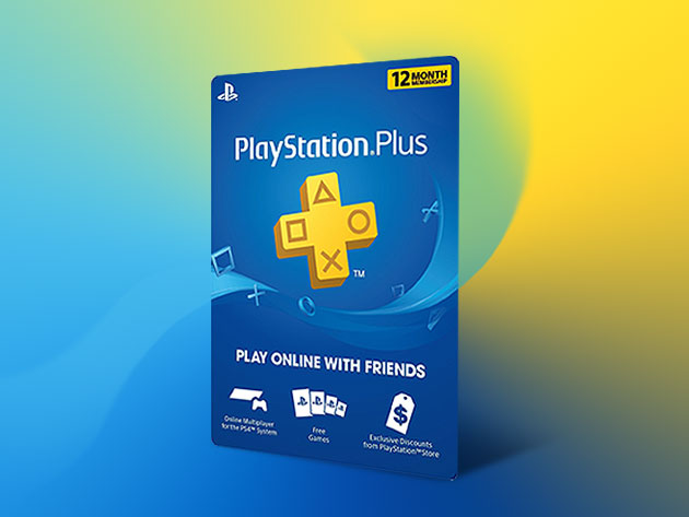 Playstation Plus 12 Month Subscription Stacksocial