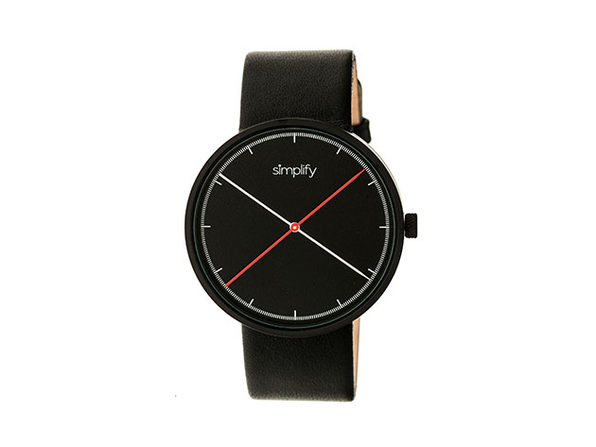 "Simplify ""The 4100 Series"" Men's Quartz Watch"
