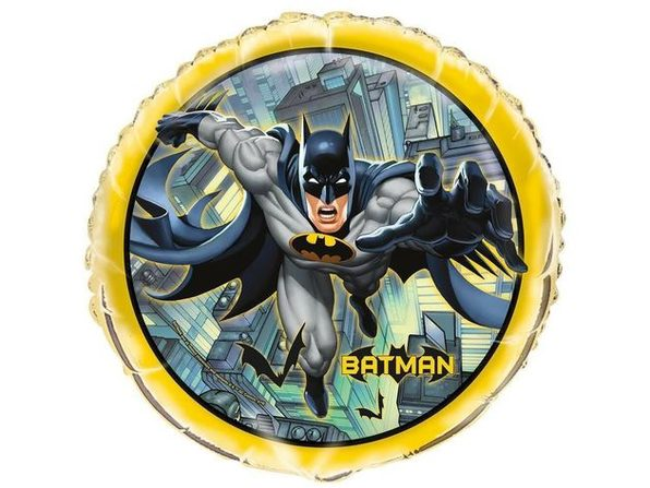 Batman Bulk Round Foil Metallic 18 Inch Balloon