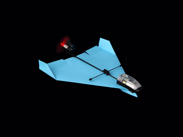 PowerUp Dart: Smartphone-Controlled Paper Airplane Kit