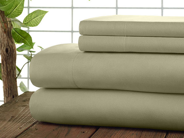 Kathy Ireland 4-Piece CoolMax Sheet Set (Sand)