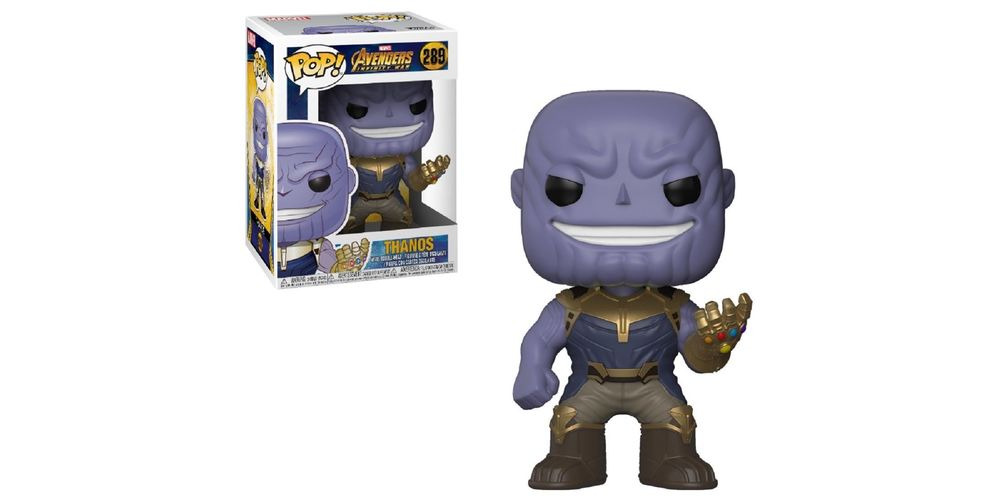 Funko POP – Infinity War – Thanos – Vinyl Collectible Figure, on sale for $20.69 (9% off)
