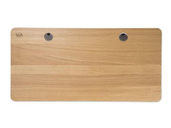 "Surfer Electric Standing Desk (30""x 60"", White Oak)"