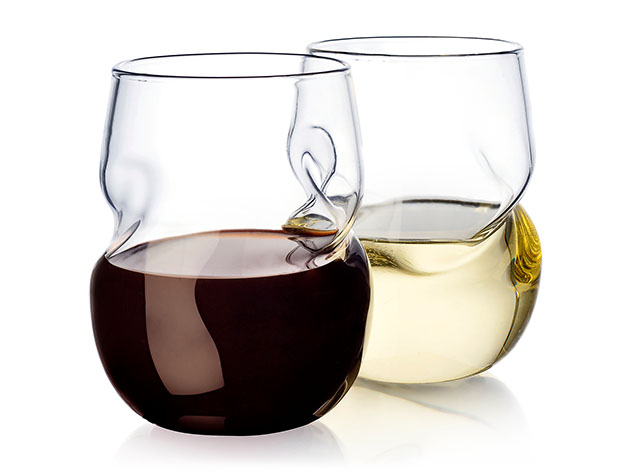 This Stemless Wine Glass Set Is The Perfect Gift For Wine