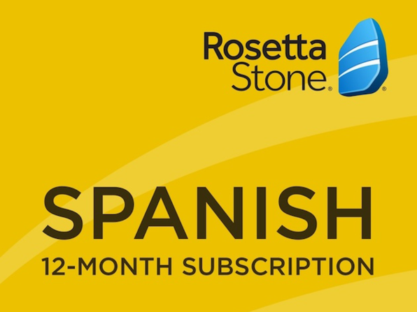 Rosetta Stone - 12 month Subscription - Spanish - Product Image
