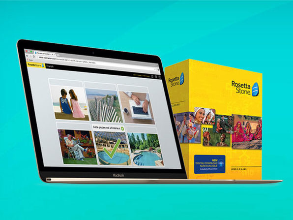 Rosetta Stone® Language Learning (Levels 1-5 Instant Download)