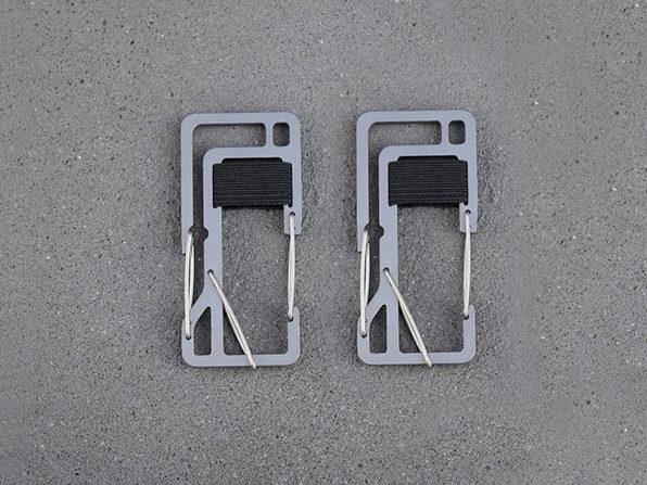 Key Titan KT7 Carabiner: 2-Pack (Silver)