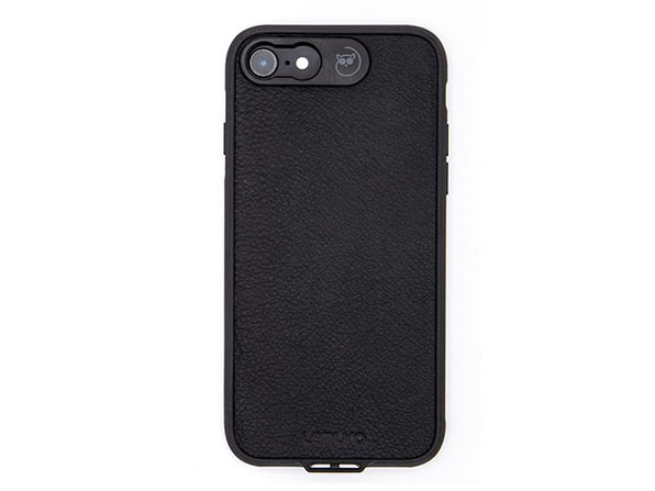 Lemuro iPhone Photo Case | iPhone 7/8 (Black Leather)