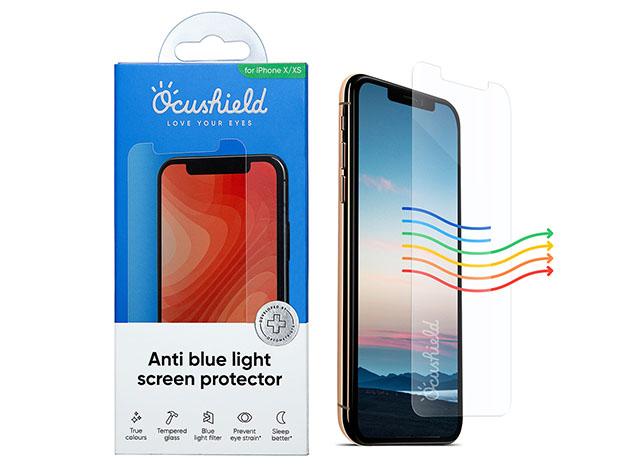 A blue light phone screen protector