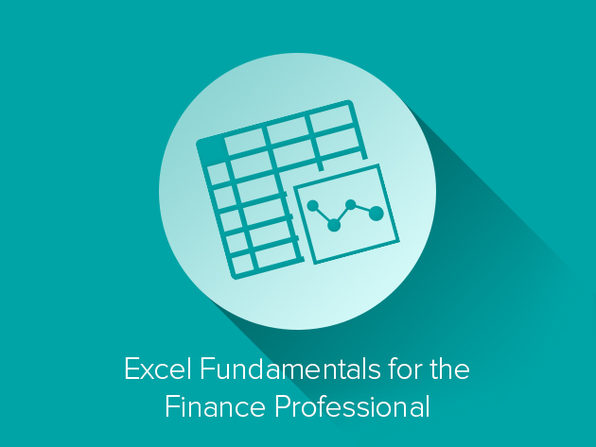 Excel Fundamentals for the Finance Professional Course - Product Image