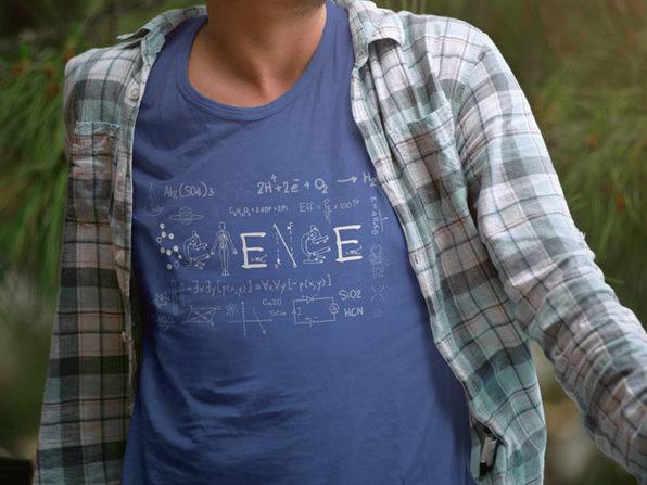 Science Men's T-Shirt (Medium)