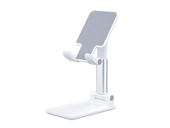 Foldable Travel-Ready Phone Stand (White/2-Pack)
