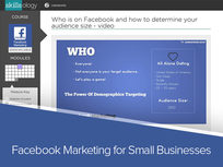 Facebook Marketing for Small Businesses - Product Image