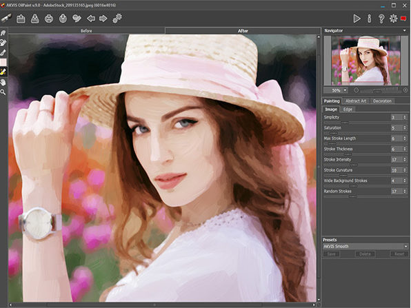 Akvis OilPaint Software: Lifetime License (Business)