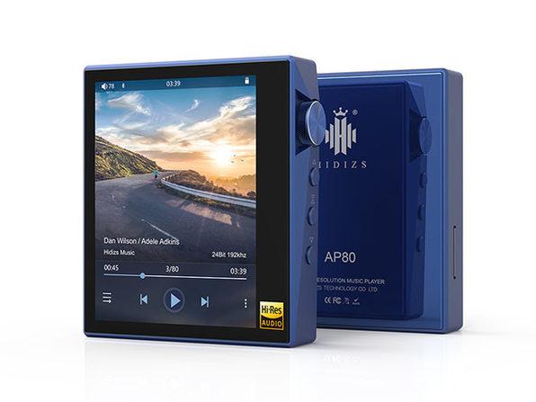 AP80 Portable Music Player (Aluminum Alloy, Blue)